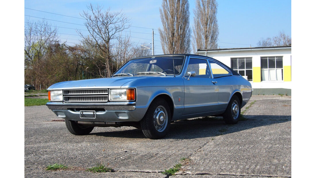 1973er Ford Consul Coupe