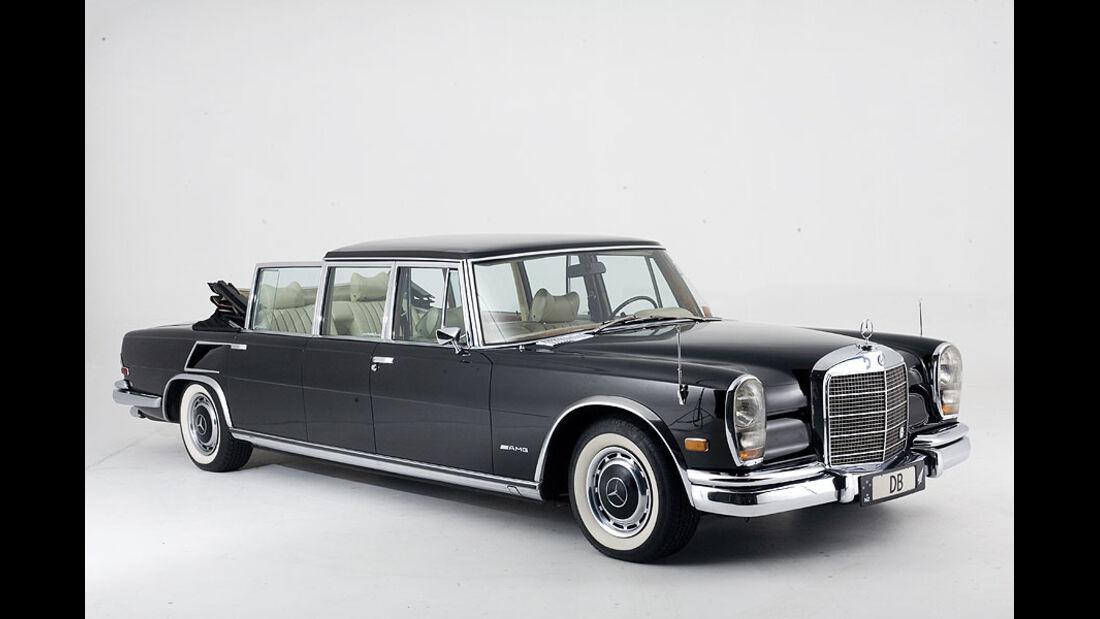 1973er Mercedes-Benz 600 Pullman Landaulet Conversion