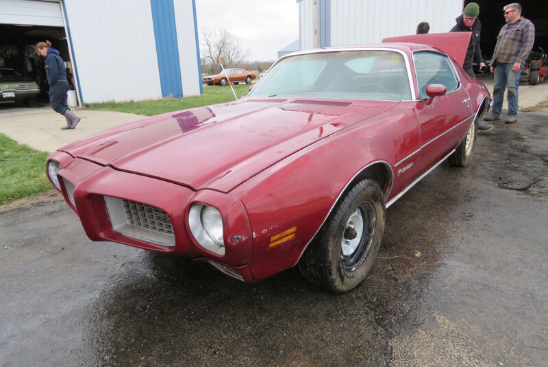 1973er Pontiac Firebird