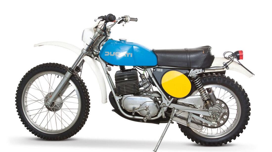1974 Ducati 125 Enduro RM Auctions Monaco 2012