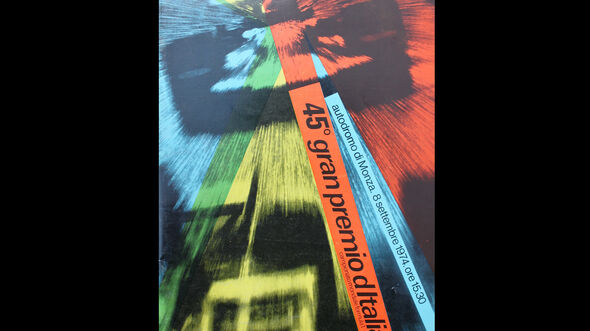 1974 - GP Italien - F1-Programm - Cover