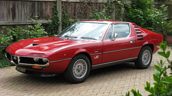1974er Alfa Romeo Montreal Coupé