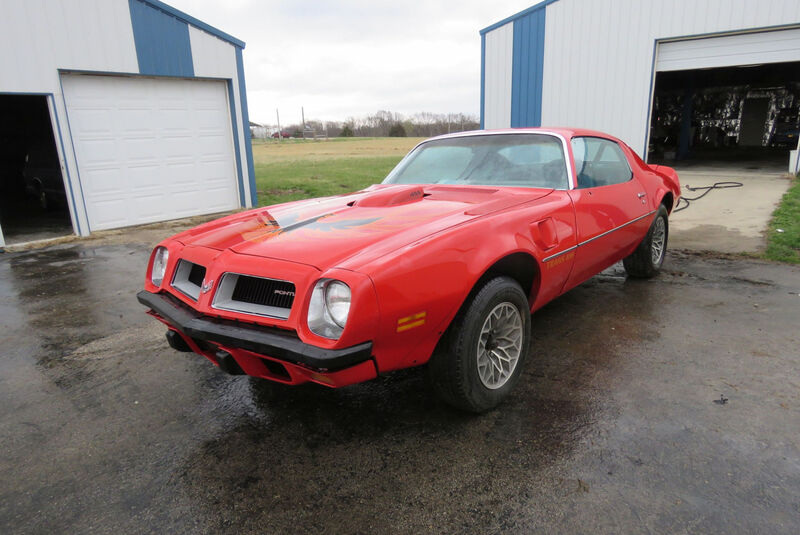 1974er Pontiac Trans Am