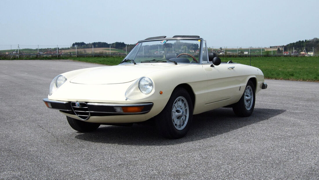 1975er Alfa Romeo Spider 1300 Junior