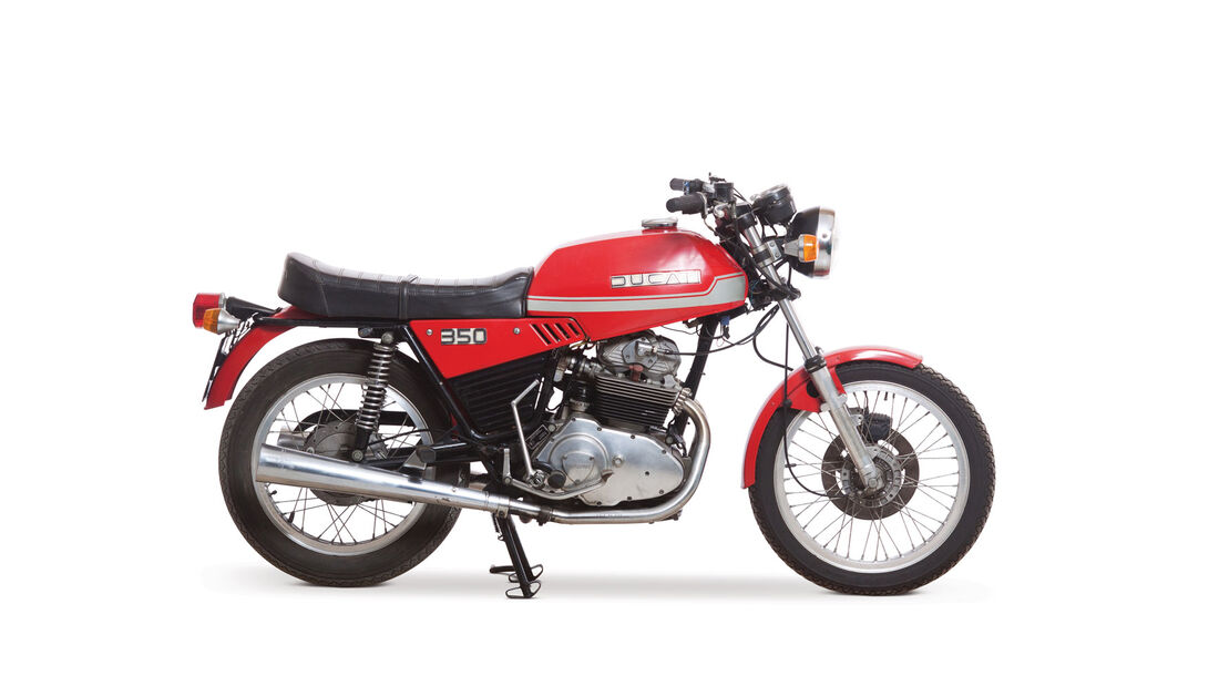 1976 Ducati 350 GTL RM Auctions Monaco 2012