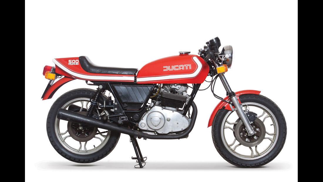 1976 Ducati 500 Sport RM Auctions Monaco 2012