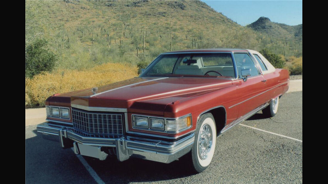 1976er Cadillac de Ville Cabriolet Two Door Coupe