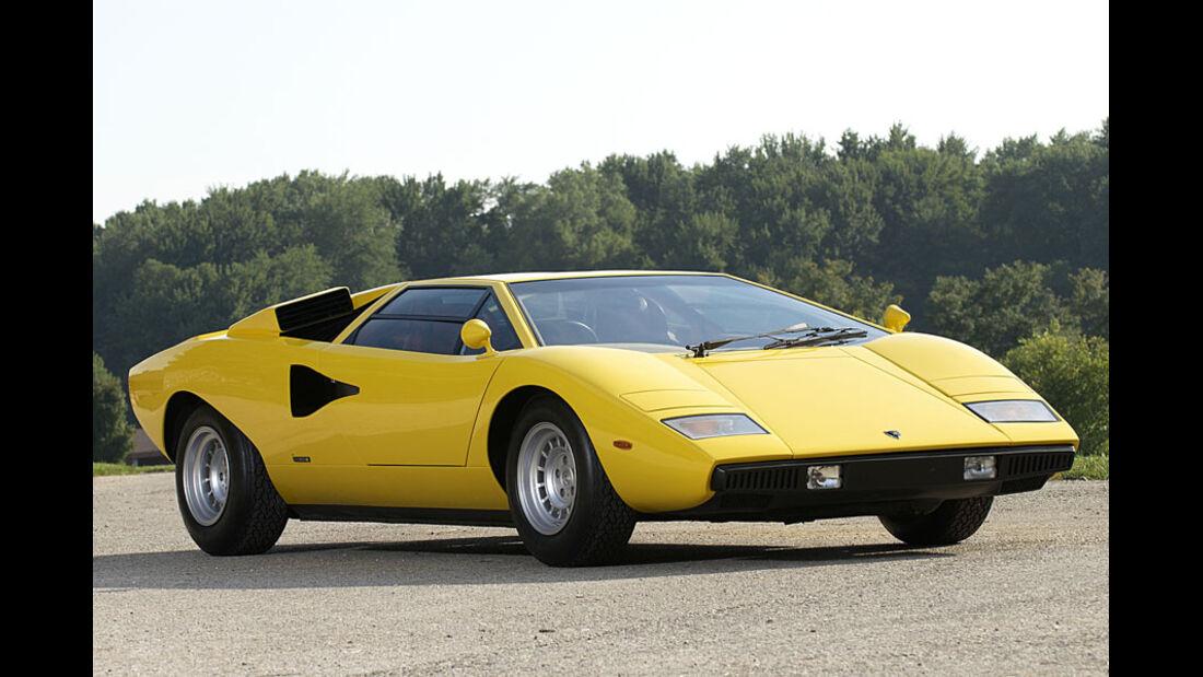 1976er Lamborghini Countach LP400 Coupé