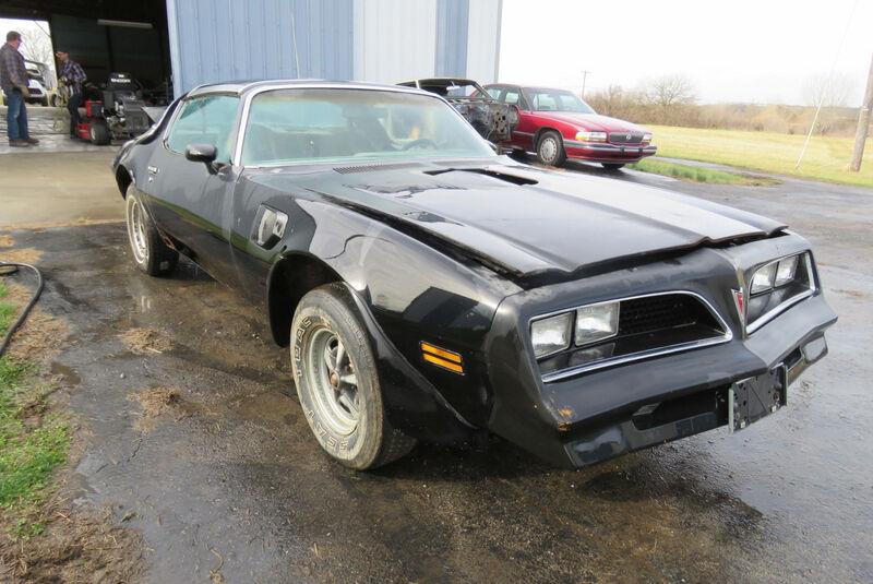 1977er Pontiac Trans Am