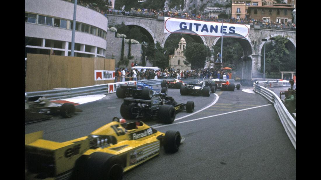 1978 Renault Turbo V6 GP Monaco