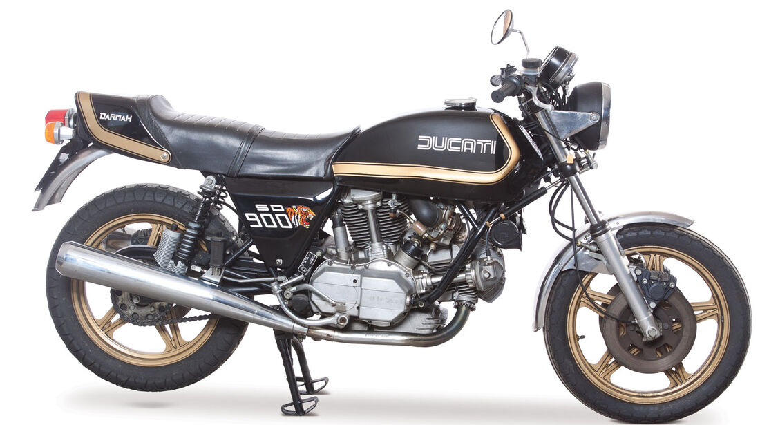 1979 Ducati 900 SD Darmah RM Auctions Monaco 2012