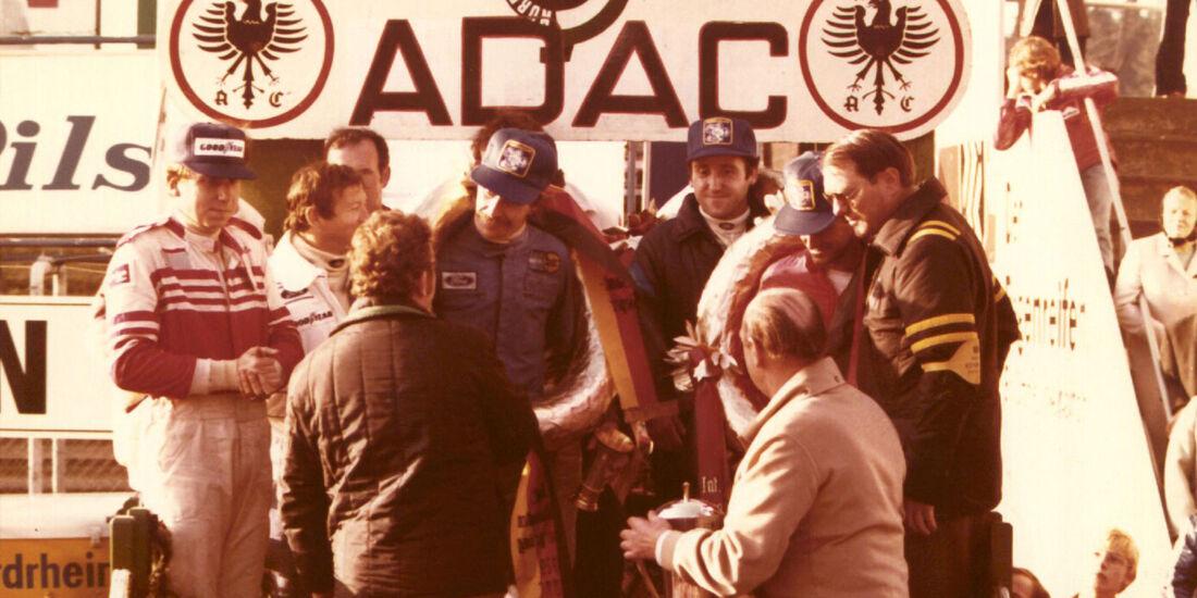 1979 Siegerehrung 24h-Rennen Nürburgring