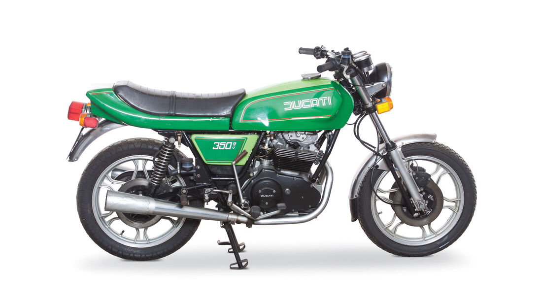 1980 Ducati 350 GTV RM Auctions Monaco 2012