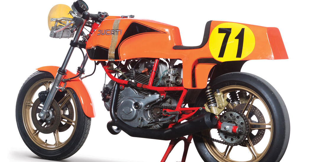 1980 Ducati 600 TT Pantah RM Auctions Monaco 2012