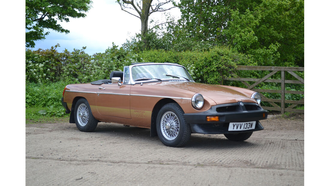 1980 MGB Limited Edition Roadster