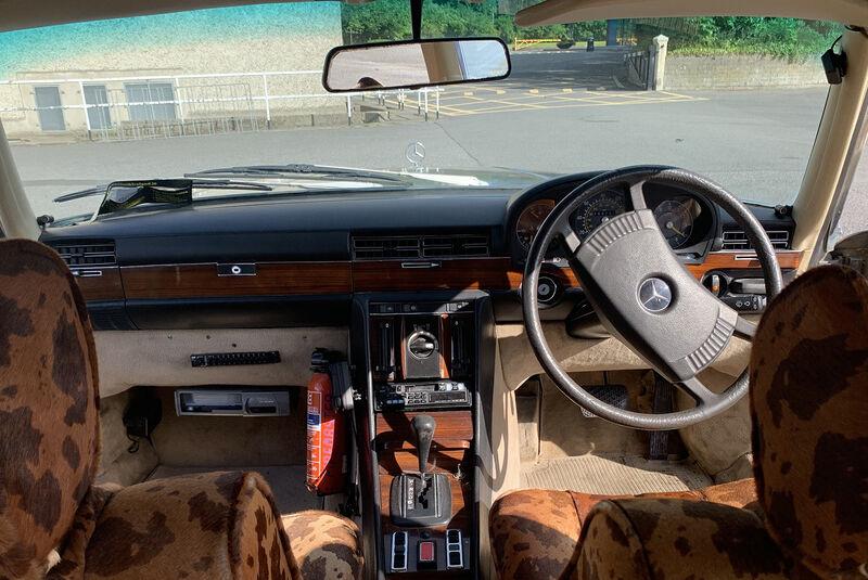 1980er Mercedes 450 SEL von Bono in der Auktion