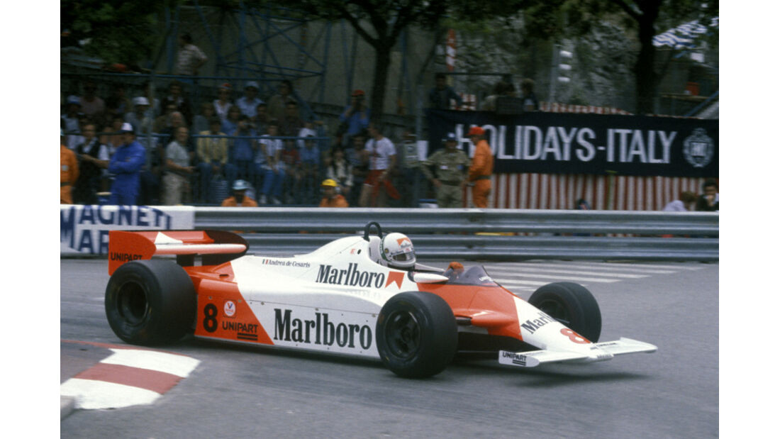 1981 Andre de Cesaris McLaren