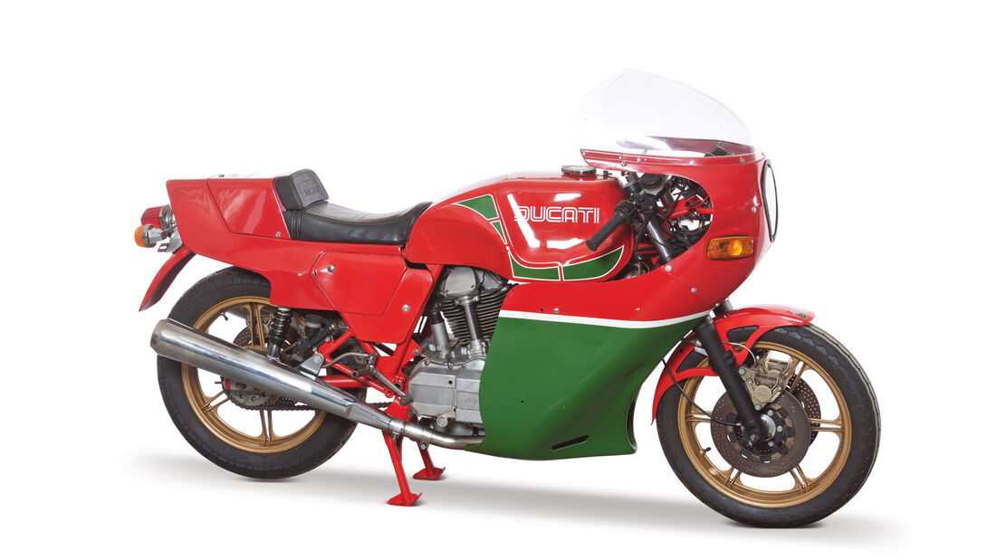 1981 Ducati 900 Mike Hailwood Replica RM Auctions Monaco 2012