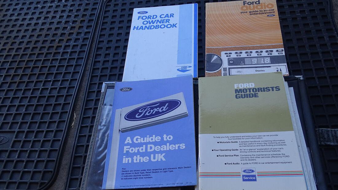1982er Ford Fiesta XR2