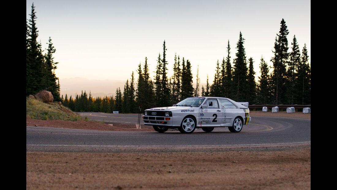 1983 Audi A1 quattro - Impressionen - Pikes Peak 2018 - Bergrennen
