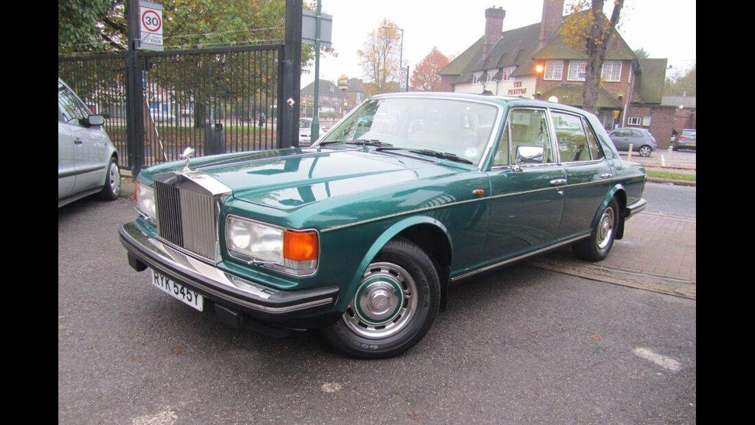 1983 Rolls-Royce Silver Spirit.