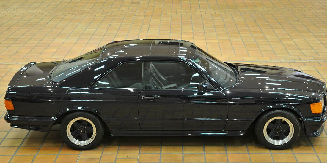 1983er Mercedes-Benz 500 SEC AMG