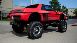 1984er Pontiac Fiero Custom Coupe