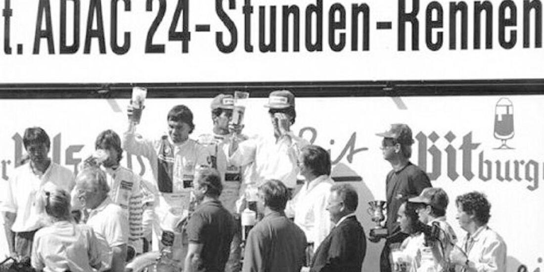 1986 Alle Sieger 24h-Rennen Nürburgring