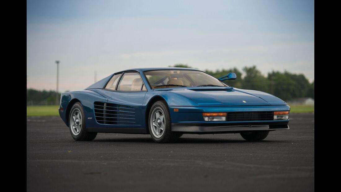 1986 Ferrari Testarossa - Monterey - Auktion - August 2017