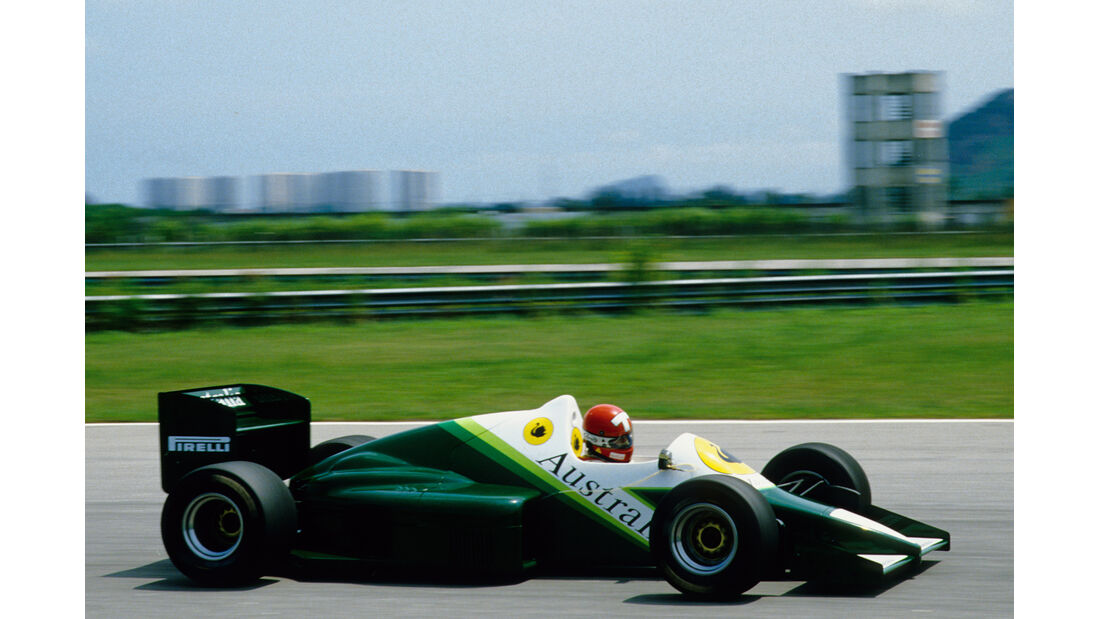 1986 Mike Thackwell, RAM-Hart 03 Turbo
