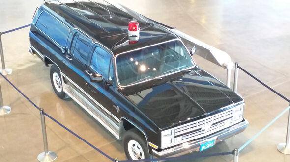 1986er Chevrolet Suburban, Follow-up Car Presidental Motorcade
