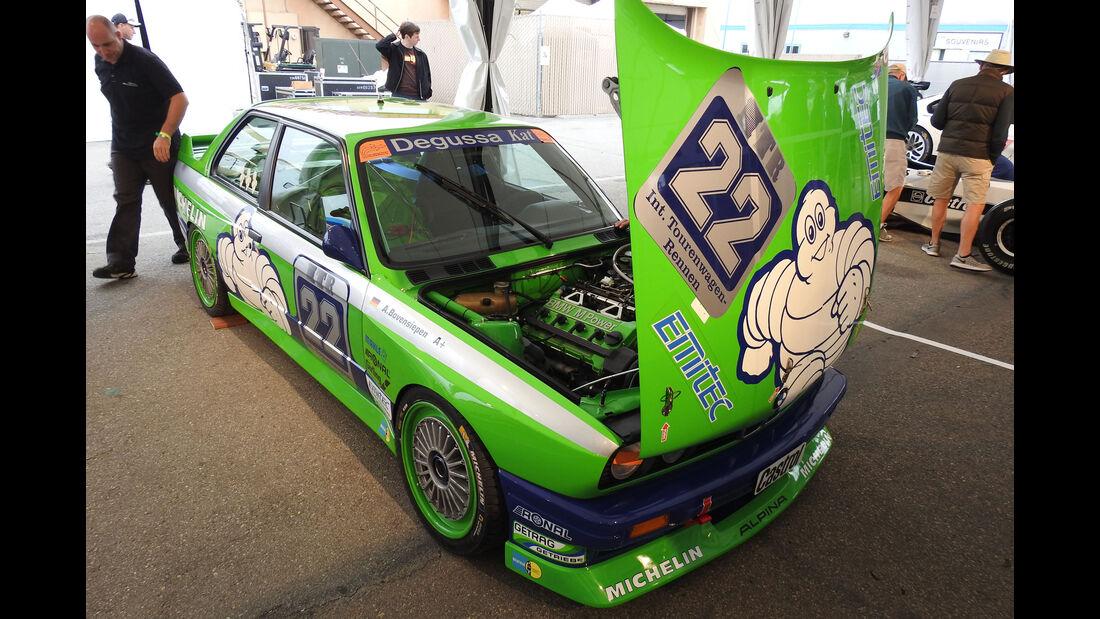 1987 BMW Alpina M3 (E30) - Monterey Motorsports Reunion 2016 - Laguna Seca