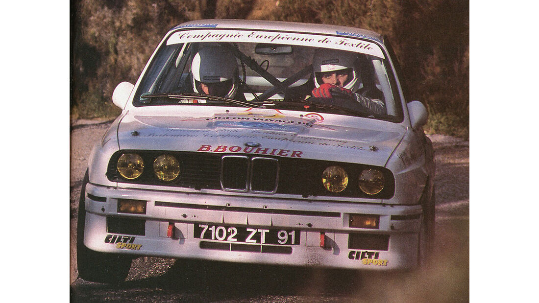1987 BMW M3 Ex-Works Group A Competition Car