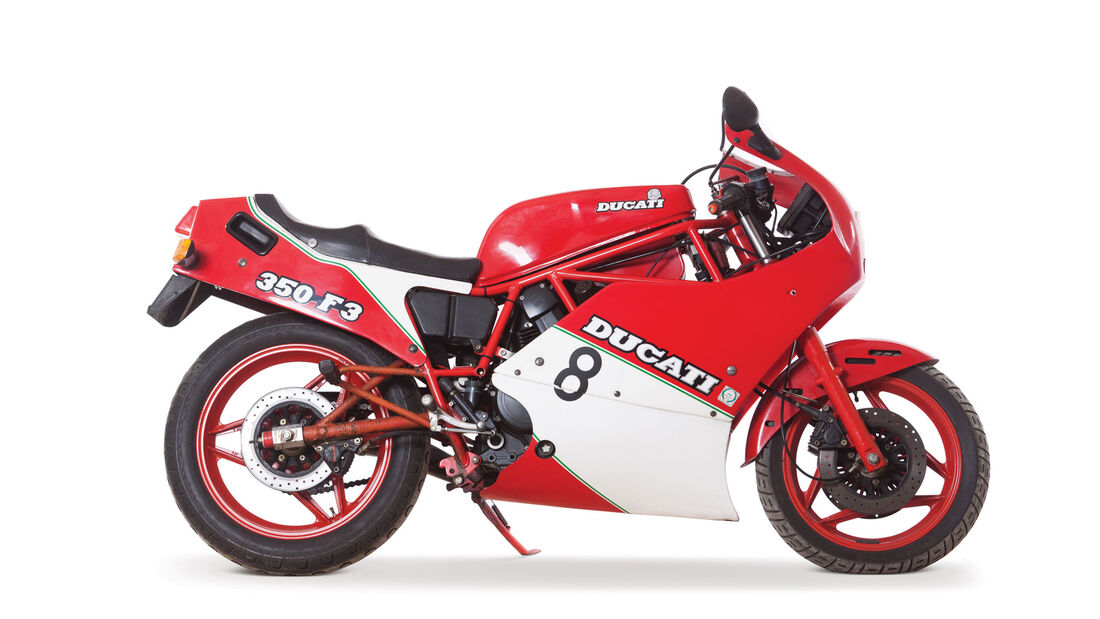 1987 Ducati 350 F3 Edizione Speciale RM Auctions Monaco 2012