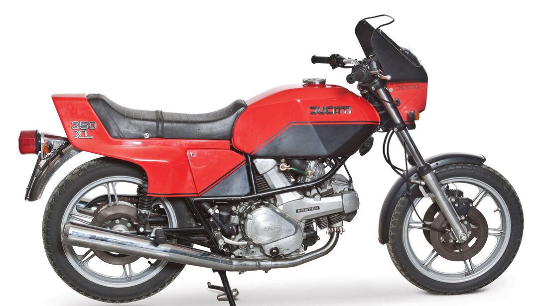 1987 Ducati XL350 Pantah RM Auctions Monaco 2012