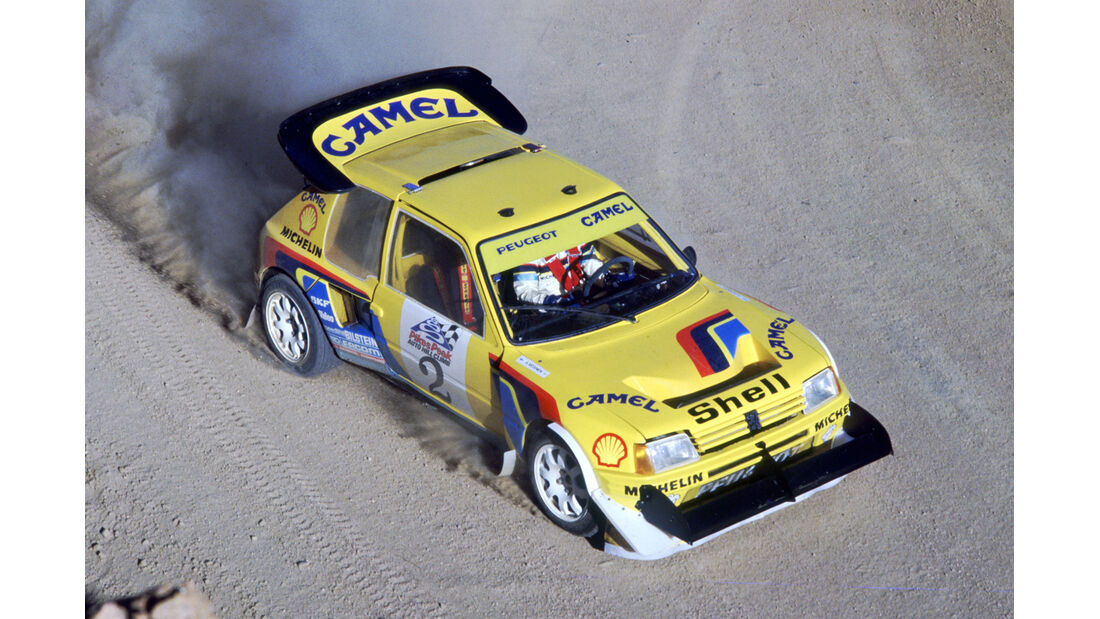 1987 Pikes Peak Ari Vatanen Peugeot 205