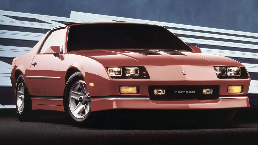 1988 Chevrolet Camaro IROC Z - Muscle Car - Pony Car
