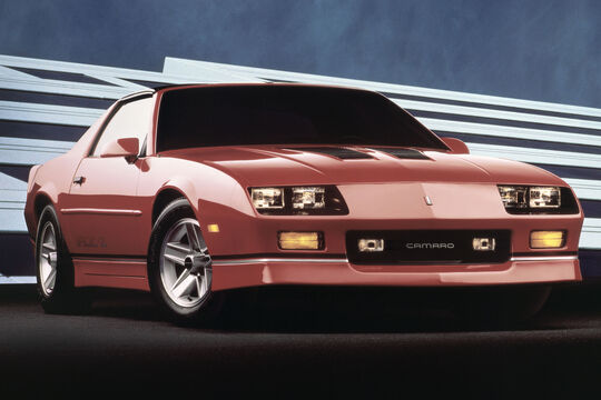 1988 Chevrolet Camaro IROC Z - Muscle Car - Pony Car
