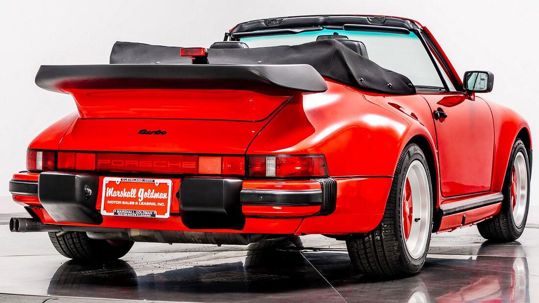 1988 Porsche 911 Turbo Slantnose Cabriolet