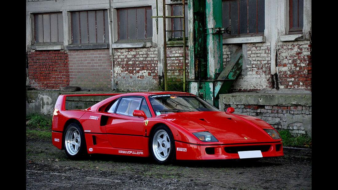 1989 Ferrari F40 berlinerte ex-Nigel Mansell