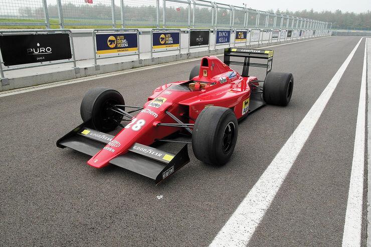 1989er Ferrari F1-89 - Foirmel 1-Rennwagen