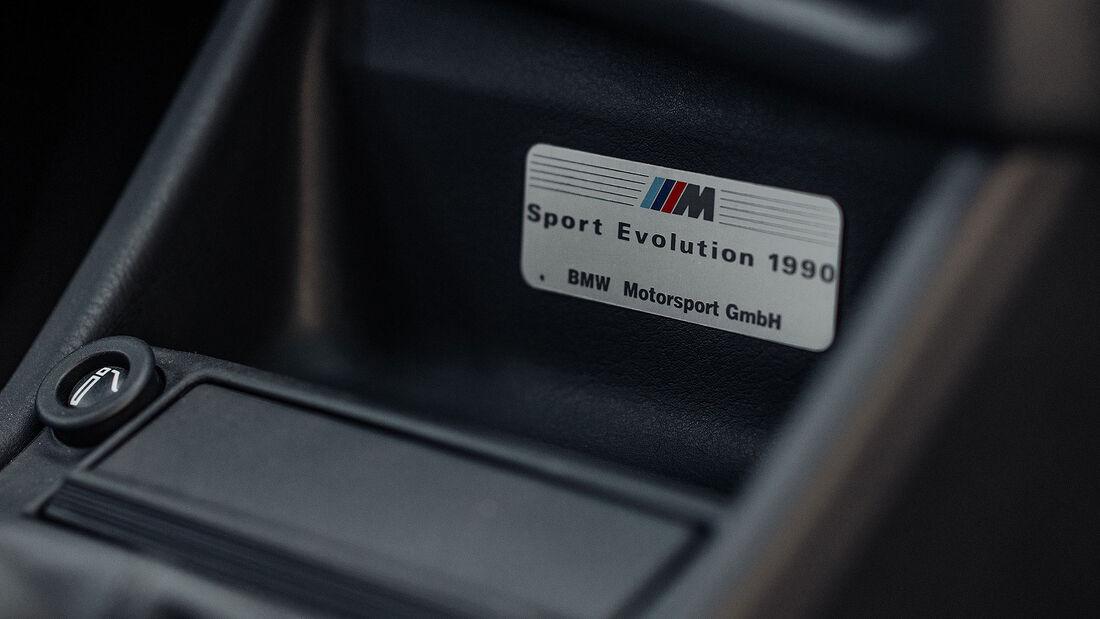 1990 BMW M3 E30 Sport Evolution