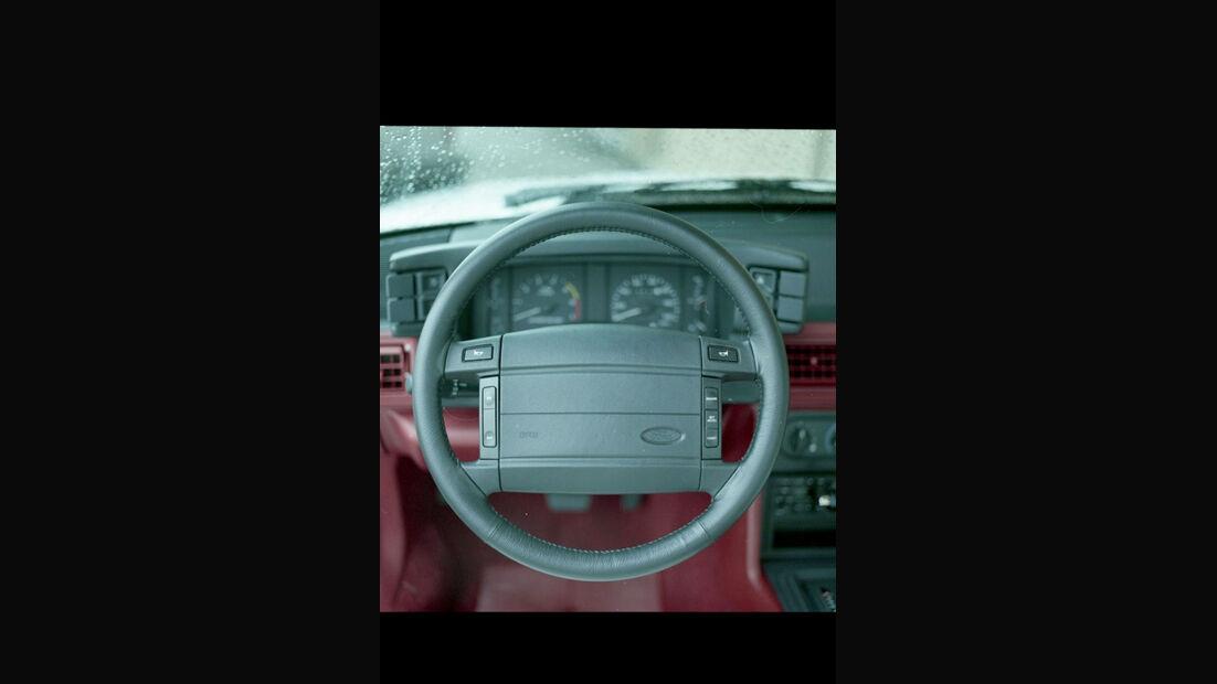 1990 Ford Mustang - Muscle Car - Lenkrad - Innenraum