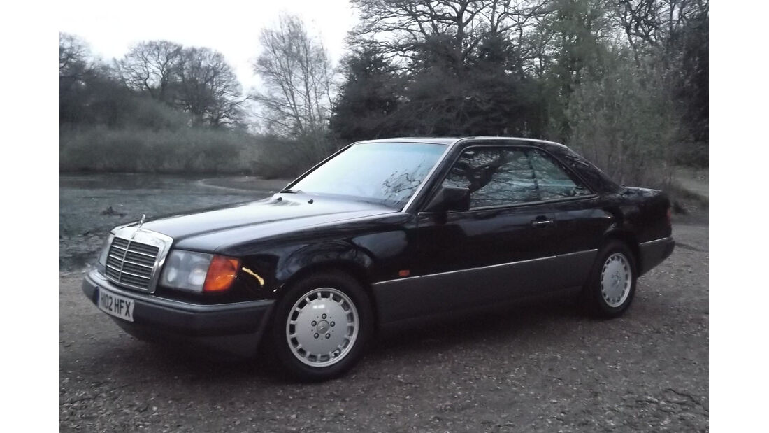 1990 Mercedes-Benz 230CE Coupé.