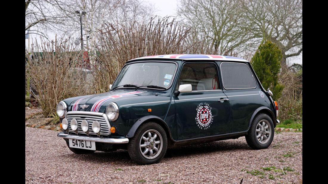 1990 Rover Mini Cooper.