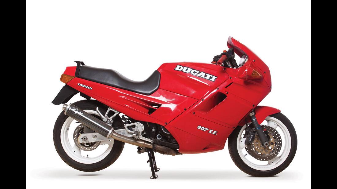 1991 Ducati 907 I.E. Desmo RM Auctions Monaco 2012