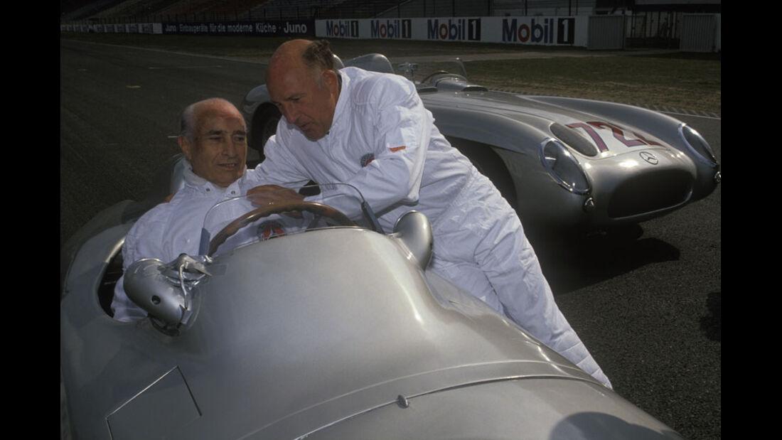 1991 Fangio 80. Geburtstag Stirling Moss