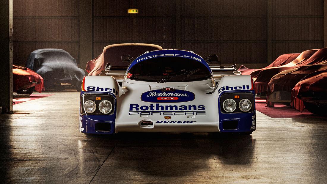 1991er Schuppan Porsche 962CR