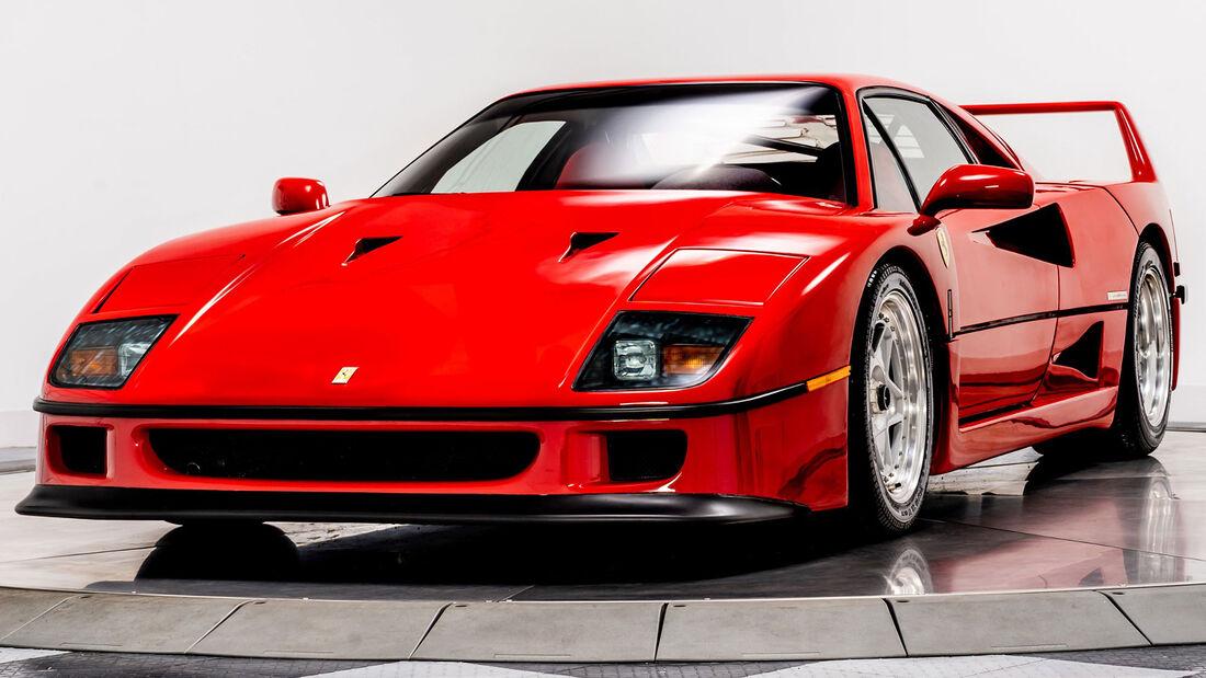 1992er Ferrari F40 In Der Us Version Zu Verkaufen Auto Motor Und Sport