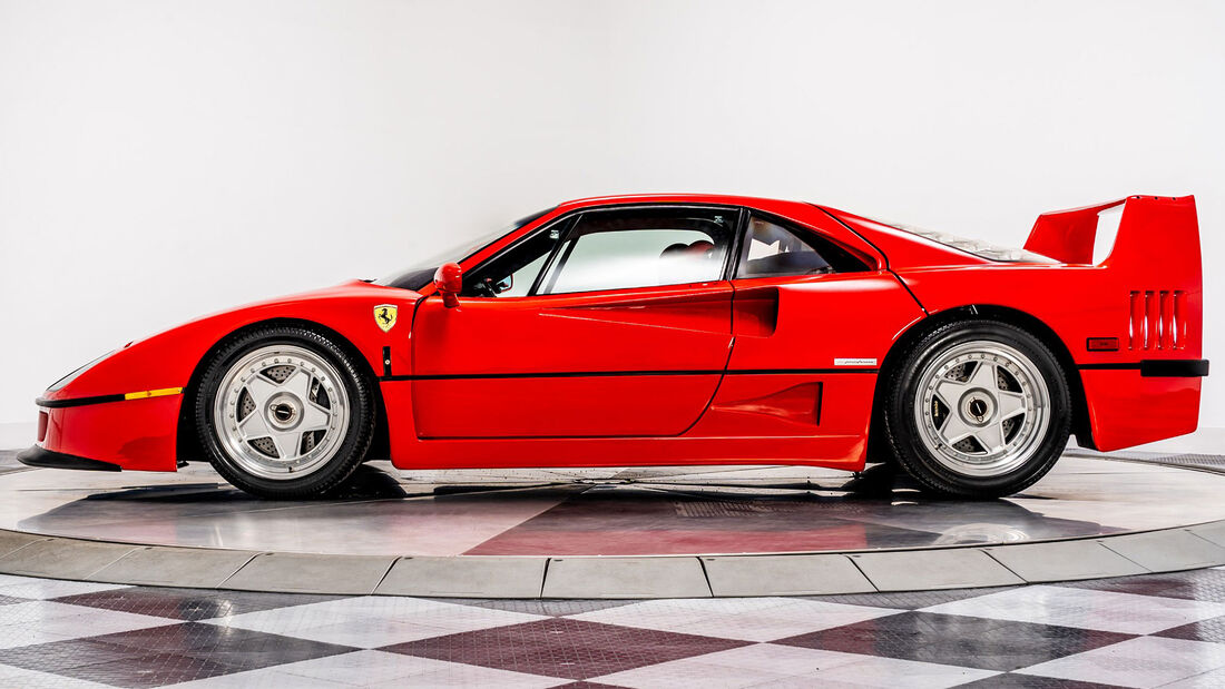 1992 Ferrari F40 US-Version